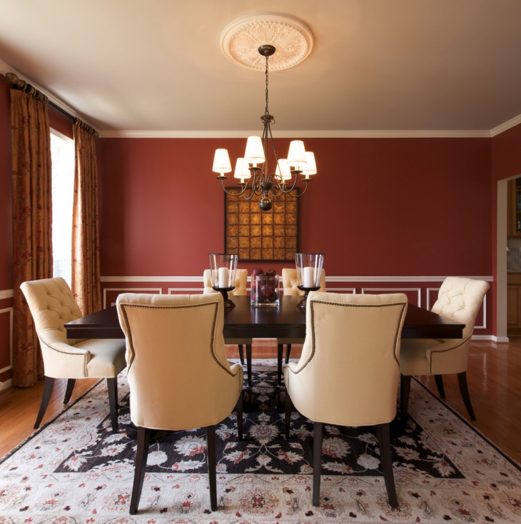 Best Dining Room Color Ideas With Chair Rail Images House