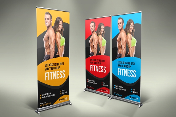 Fitness Rollup Banner