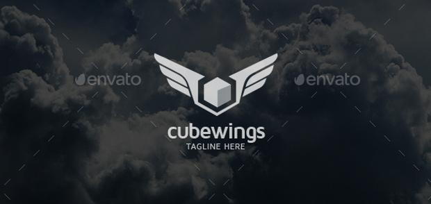 cube wings logo