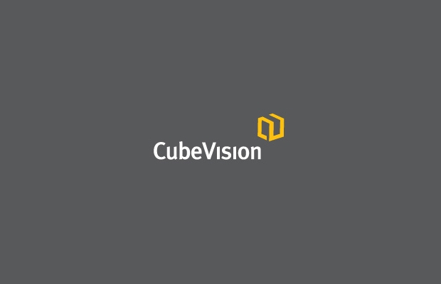 cube vision logo design