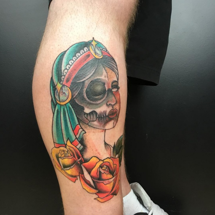 Awesome Girl Tattoo for Men