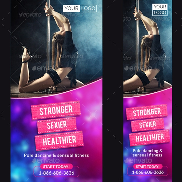 Fitness Web Banner