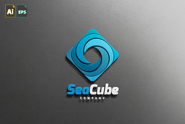 Sea Cube Logo