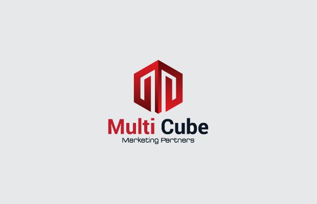 multicube logo design