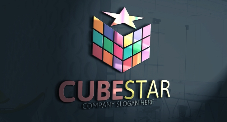 20+ Cube Logos - Free Editable PSD, AI, Vector EPS Format Download ...