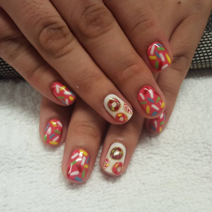 Candy Nail Art Designs