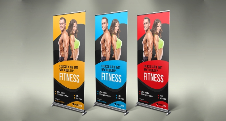 Fitness banners free psd ai vector eps format