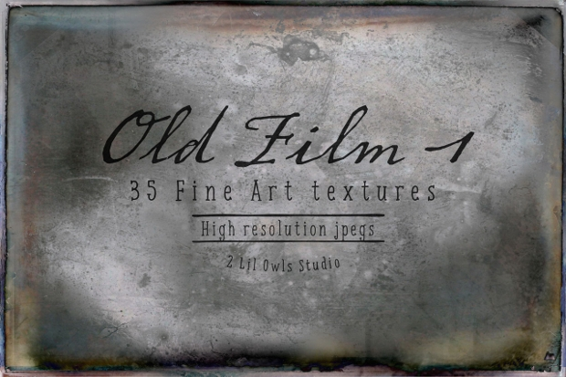 old film fine arts texture design