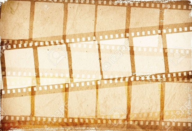 Brown Film Stripe Texture