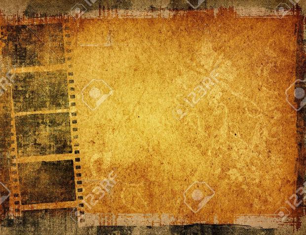 Ancient Film Strip Texture