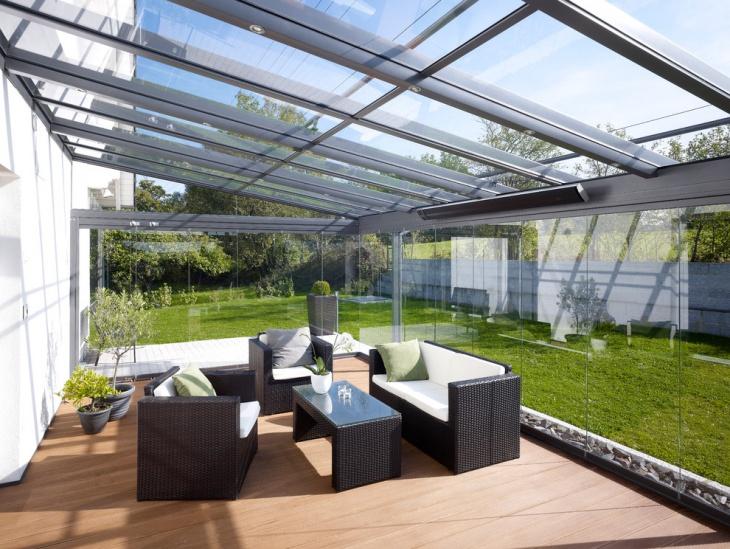 glass sunroom idea