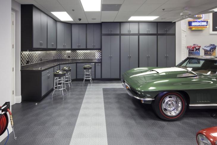 Rubber Flooring Toy Garage