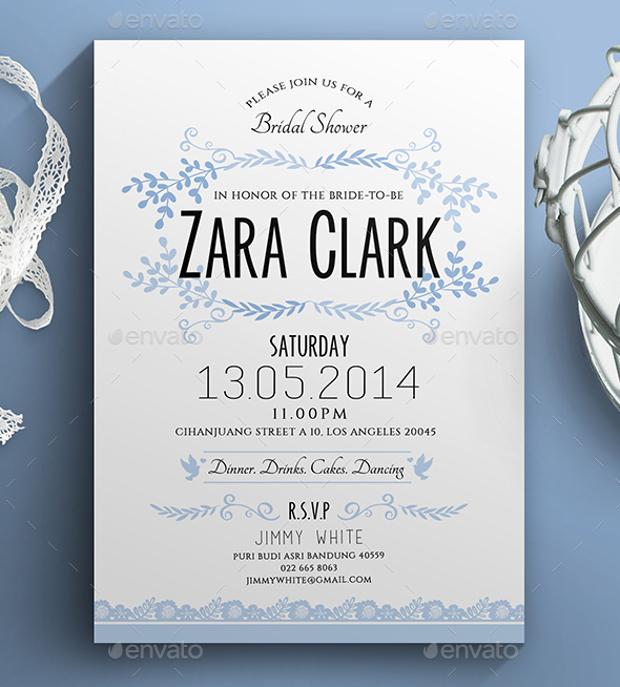 Colorful Bridal Shower Invitation