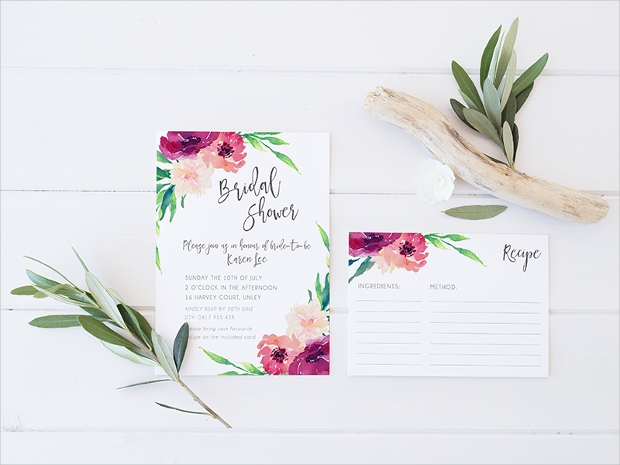 Blooming Bridal Shower Invitation