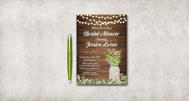 22 bridal shower invitation templates printable psd ai vector bridal shower invitation templates stopboris Choice Image