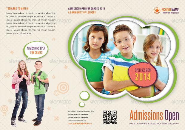 Junior School Promotion TriFold Brochure