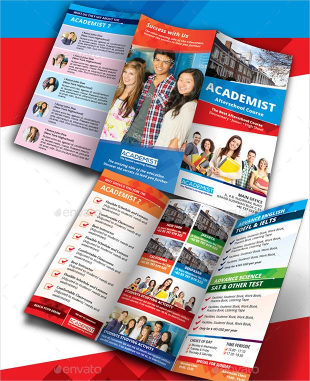 Academic Education Tri fold Brochure