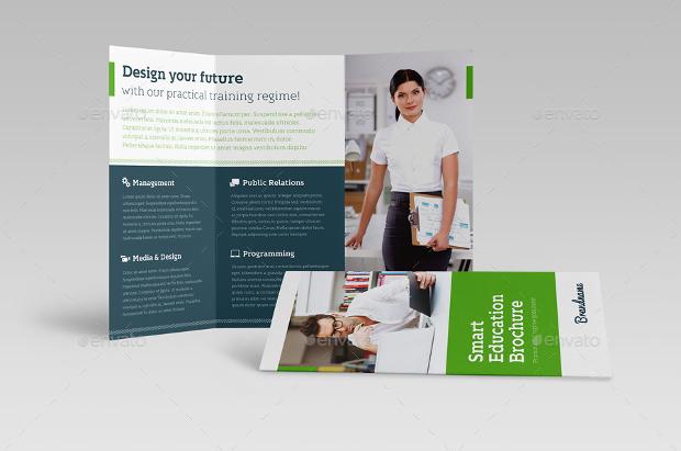 Smart Education Trifold Brochure