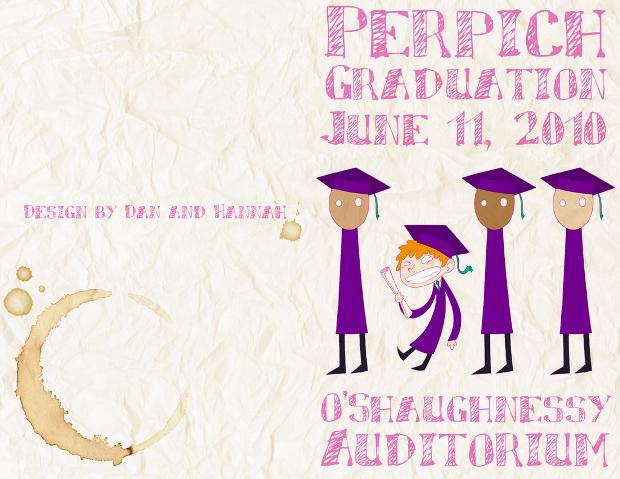 Graduation Brochure Design