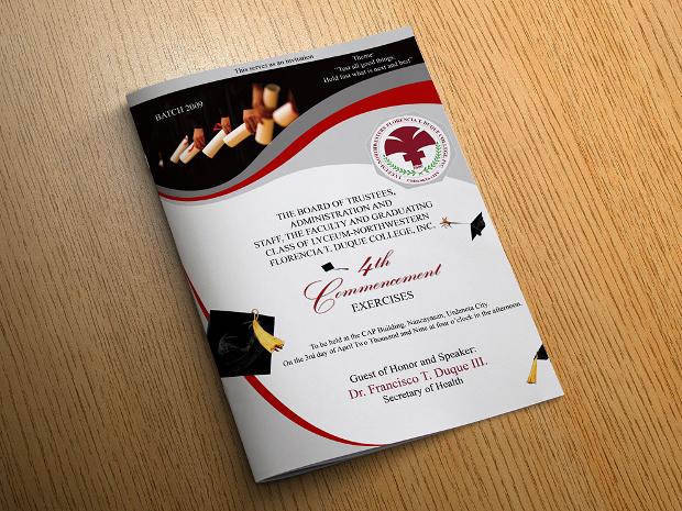 Graduation Program Brochure