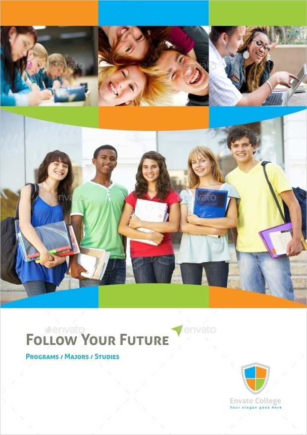 Graduation Educational Brochure Template