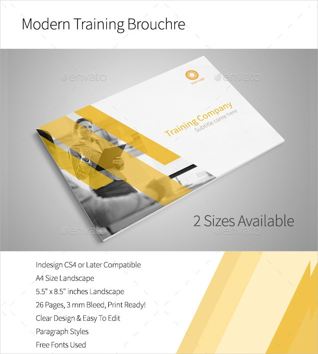 Modern Training Brochure