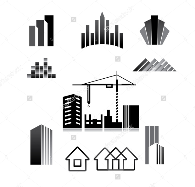 Construction Company Icons Set