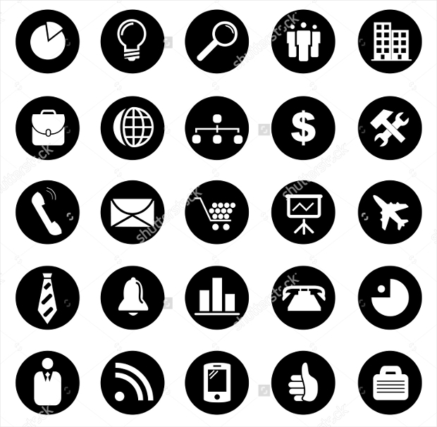 Vector Company Icons Set