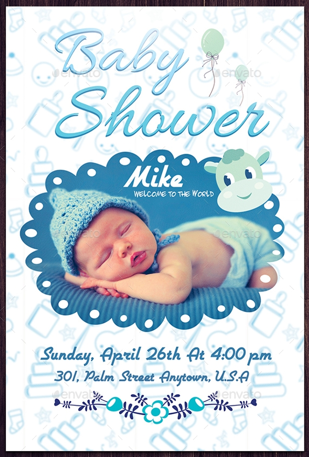 Baby Flyers. 16 Baby Shower Flyer Templates ...