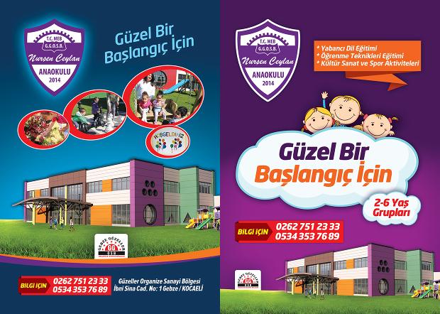 Kindergarten Graduation Brochure Design