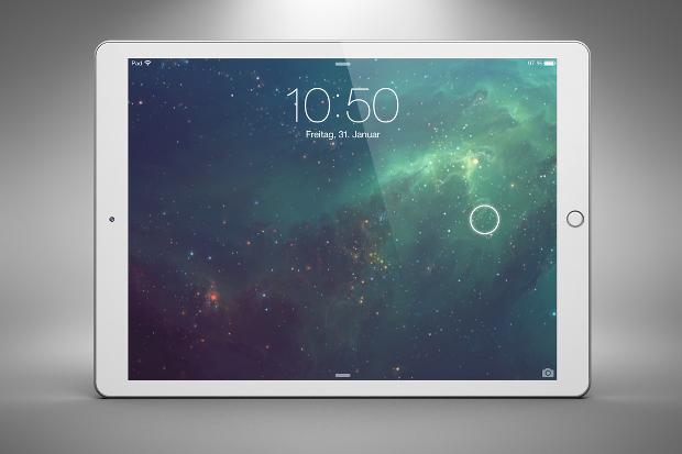 ipad app screen mockup design