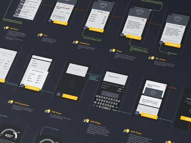 iOS App Screen Mockup