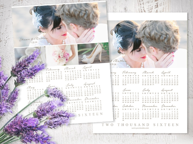 Photography Calendar Template