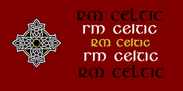 fantastic celtic font