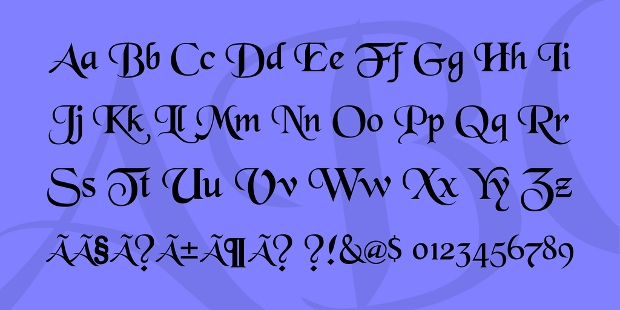 free old english font