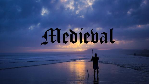 medieval alphabet font1