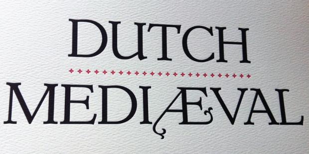 dutch medieval font