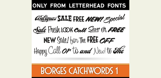Classic Letterhead Font