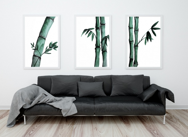 18 Bamboo Wall Art Designs Ideas Design Trends