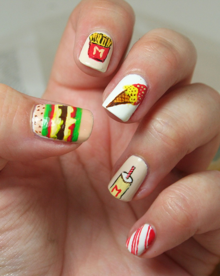 Gorgeous Food Nails