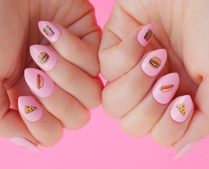 22 food nail art designs ideas in eps vector psd word