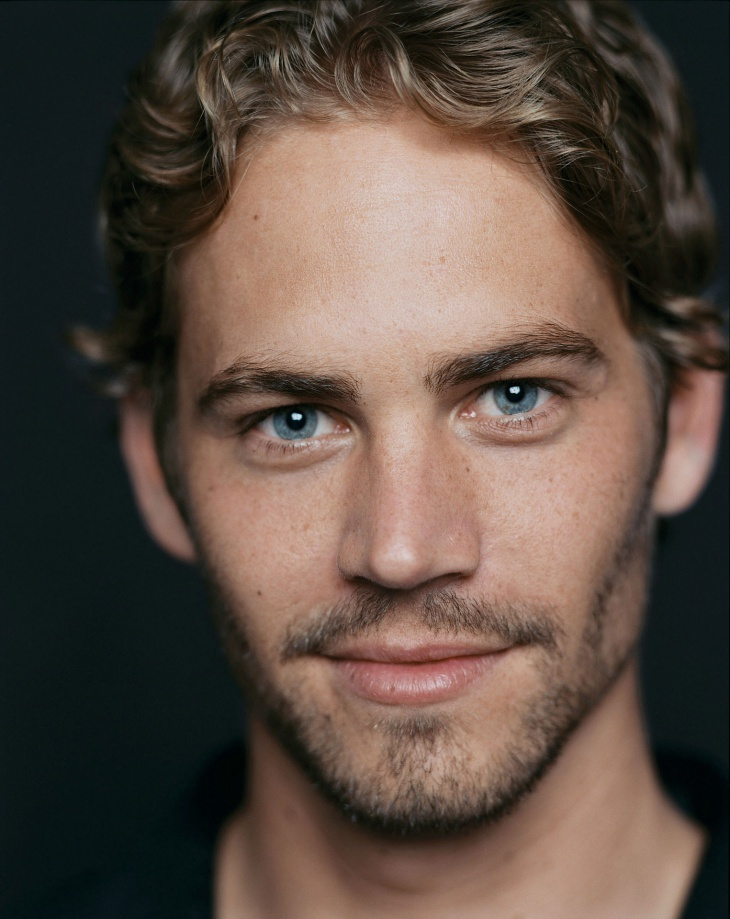 Paul Walker Wavy Hairstyle