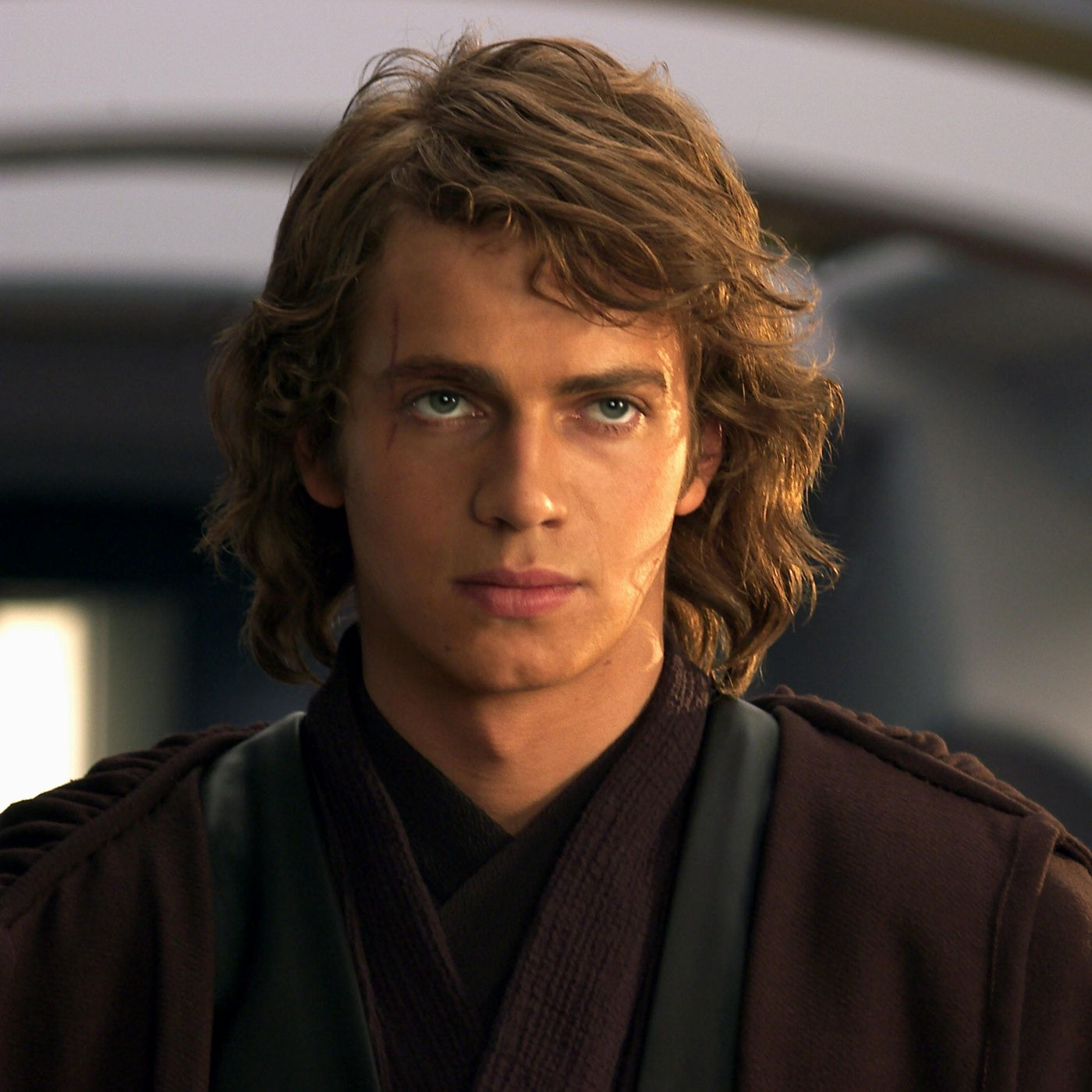 anakin skywalker wavy hair