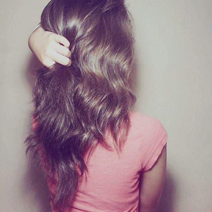natural wavy hair idea