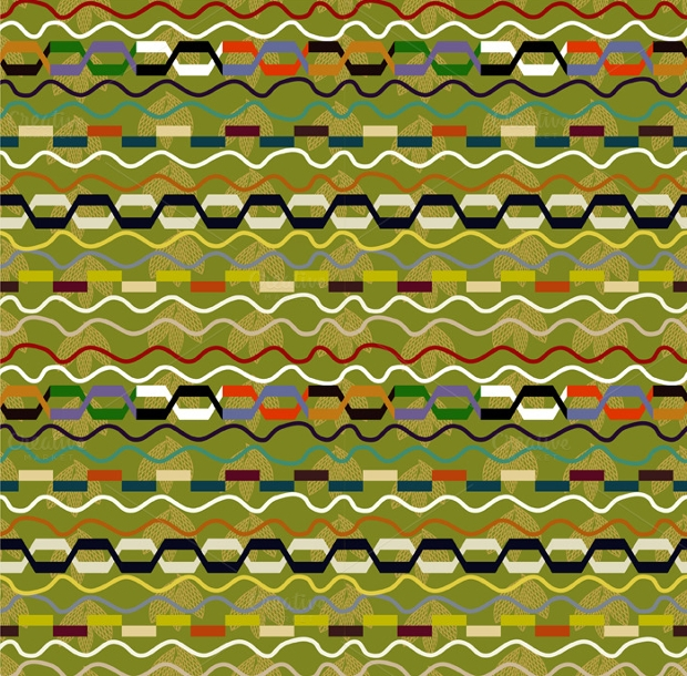 African Seamless Pattern Design