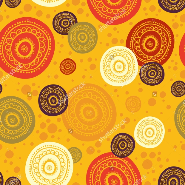Colorful African Pattern Design