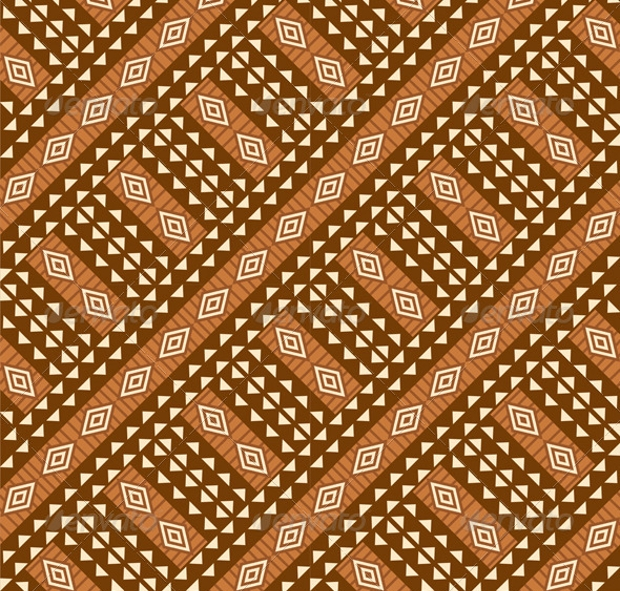 Tribal African Seamless Pattern
