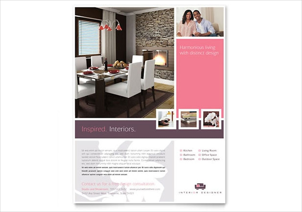 Home Interior Flyer