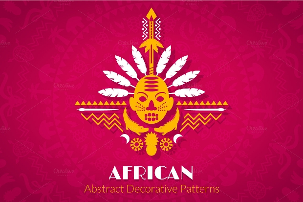 African Abstract Decorative Pattern