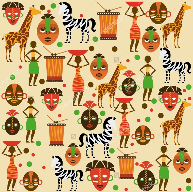 High Quality African Design Pattern